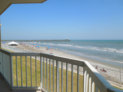 Charleston Oceanfront Villas 112 – First Floor Oceanfront Condo